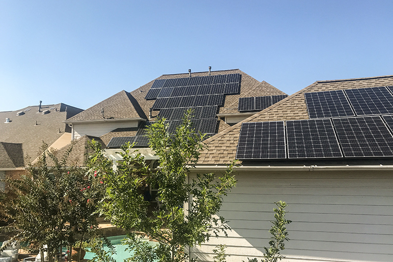 Solar Installation in Humble