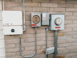 Solar Edge Inverter Installed to Houston Home