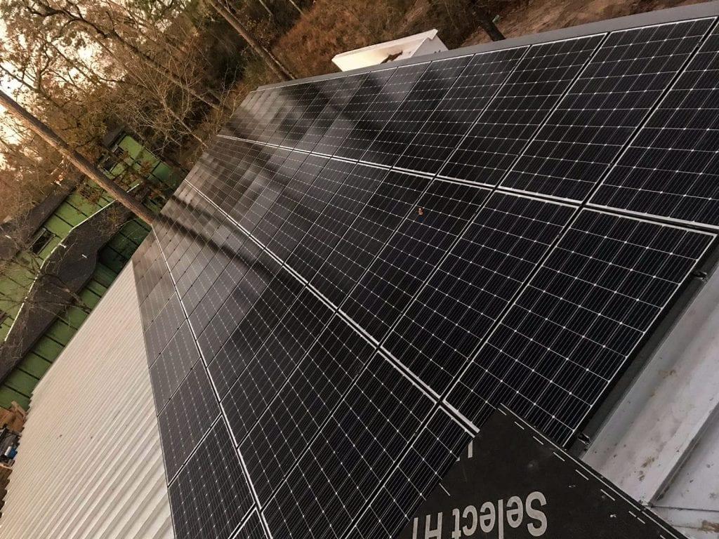 Peimar solar panel roof mount