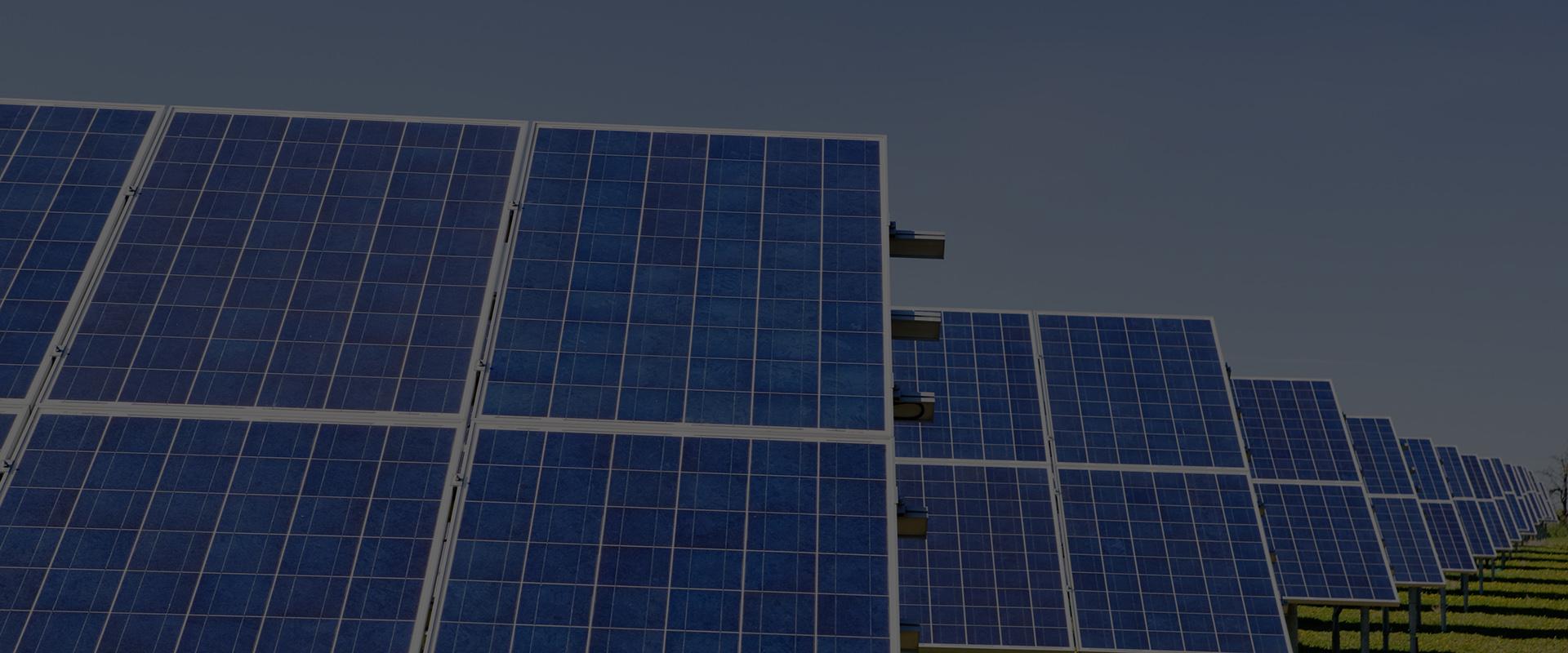 Jinko solar panel ground mount