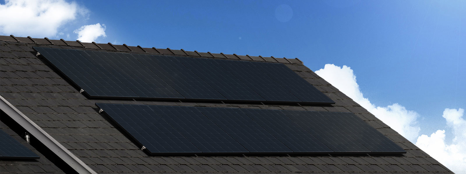 LG solar panel roof mount installation