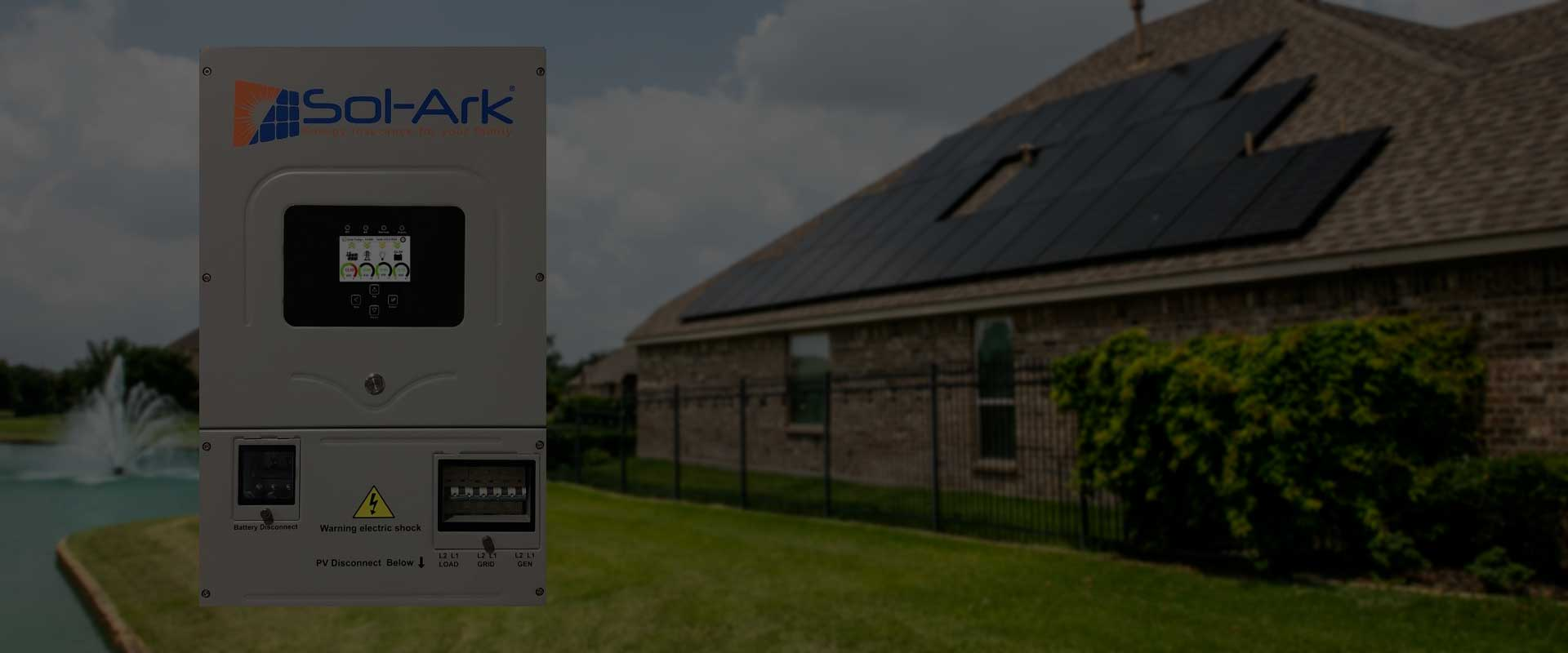 Sol-Ark for your home battery backup needs
