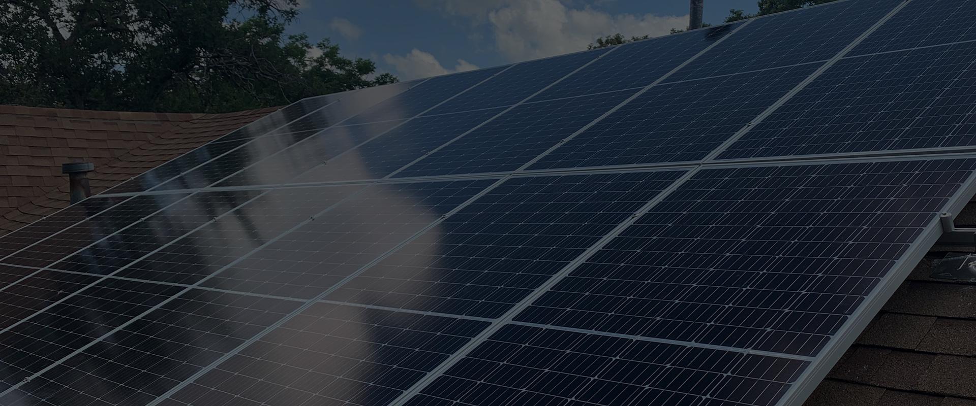 Solar panels co op in Houston TX