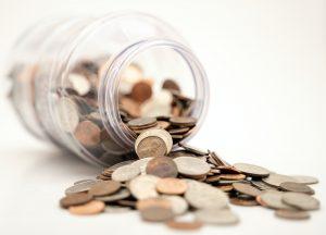 solar financing coin jar